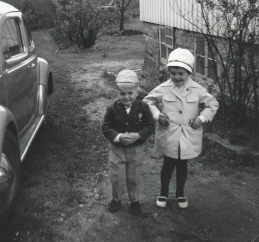 Tommy med sin första elev.